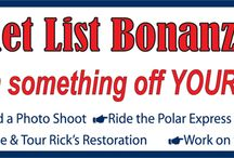 Bucket List Bonanza / by NV Northern