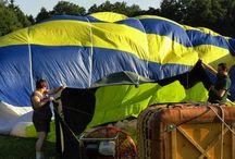 Jak probíhá let balónem? / Chtěli jste vědět jak probíhá let balónem? Máme pro vás souhrn fotografií jak to celé vypadá! Inspirujte se s pintněte nám na profil vlastní fotky.
