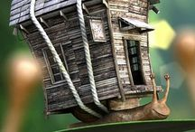 Fairy homes and gardens / by Julie Slater