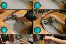 dobrar roupas