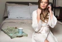 Bridal Collection / Silk & Lace Kimono Robes