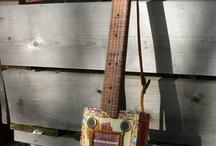 Cigar box guitars / by Bev Crocker