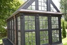växthus, orangerier och tunnlar