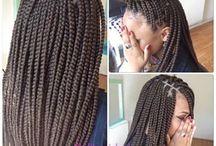 natural hairdo