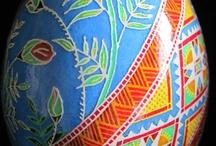 Egg Art / by Mary Corbet's Needle 'n Thread
