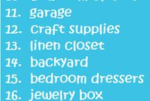 Organize this / Tips to help organize home