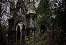 Abandoned houses etc.