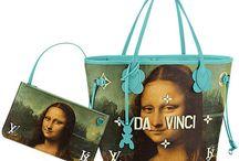 Jeff Koons/Louis Vuitton bags