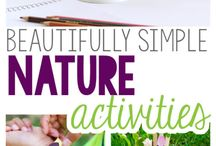 Nature Theme / All about nature and bugs