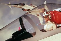 Supermarionation and More / Gerry Anderson and similar sci-fi designs and movies.