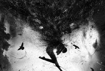 Dark / darkness, creepy, horror, gothic
