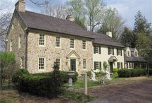 Bewitching Bucks County / Homes in the beautiful and historic #Bucks County, Pennsylvania.