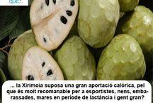 Xirimoia / Chirimoya / Aquí trobaràs curiositats sobre la xirimoia / Aquí encontrarás curiosidades sobre la chirimoya