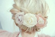 Wedding Hair / Flower power