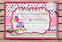 Look Who's Two Owl Birthday Ideas