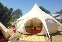 Lotus Belle tents - Happy Glamper