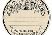 etikety a  jmenovky