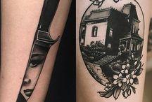 Halloween / Horror Tattoos