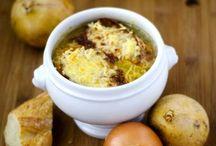 soupe et plat d  hiver ...