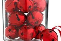 Kerst-ideeën in rood