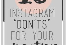Instagram tips / The best way to find and grow your audence for your blog/product is Social Media. Instagram in particular. Here I'm collecting the most fresh, helpful tips I'd like to try.