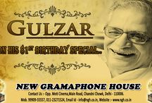 Happy Birthday Gulzar / New Gramophone House celebrating Gulzar Birthday with selling his all vinyl records at best price