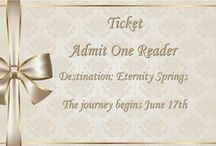 #EternitySprings #ReRead Book Club / Fans of Emily March's #EternitySprings are starting a virtual book club #ReRead of the series on Goodreads. Come join the fun! #Giveaways galore.