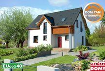 Domy tanie w budowie  / Projekty domów tanich w budowie z biura projektowego: Lipińscy Domy