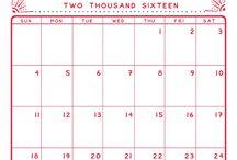 calendar printables december