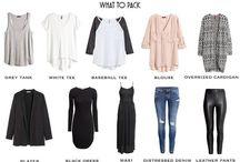Ubrania do podróży
