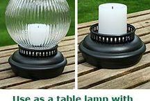 Outdoor Décor - Tabletop Lighting