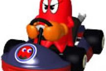 Mario Kart Arcade GP / A collection of artwork, screenshots and other images from arcade title Mario Kart Arcade GP. Visit http://www.superluigibros.com for more Mario and Luigi.
