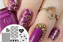 nail art, stamping!!