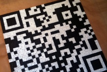 QRt / QR Codes can be used for so many things, even as art!