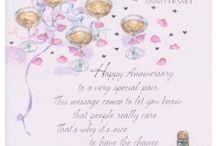 Cards Anniversaries