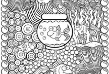 Coloring Pages / What it says. Coloring pages. :)