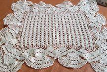 Crochet / Carpeta en macramé