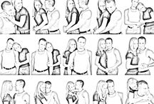 Man/couple poses