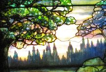 Stained Leaded Glass Art / Windows, mirrors, decorations