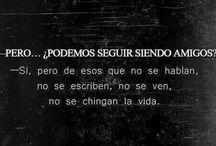 Palabras y más palabras <3 / Frases en español :)