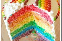 Rainbow Birthday Party / Already planning the little girl's 3rd birthday