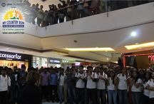Forum Mall Promotion MyCountryRun / From Flash Mob to Push-ups to myriad of activities were organised by #MyCountryRun in The Forum Mall Koramangala. To register for the race worth Rs. 1Lakh please login to www.mycountry.run