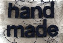 """""""handmade"""" / by Constance R."""