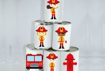 Sweet Table - Pompiers