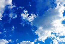Cielo...Para llegar allí hay que hacer obras de amor en la Tierra, llenas de humildad y afecto.
