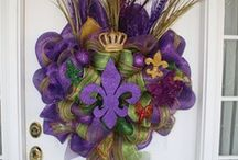 Mardi Gras / Inspiration for food, decor, and more for the big celebration before Lent.