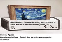 Marketing&Museum / Gamification, Content Marketing and museum. When the Art Is Watching You  Museums are mining detailed information from visitors, raising questions about the use of Big Data in the arts