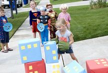 Superhero Party  / Everything you need for your child's superhero birthday party.