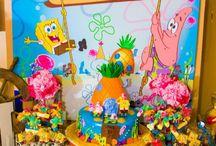 Jorja's 9th Sponge Bob Square Pants Party / Party ideas for 9th, sponge bob square pants / by Carrie Hatchett