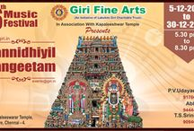 GIRI FINE ARTS SANNATHIYIL SANGEETHAM December month program / GIRI FINE ARTS SANNATHIYIL SANGEETHAM December month program